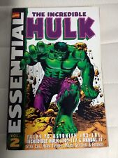 Essential Incredible Hulk Vol 2 First Printing September 2001 - Very Good
