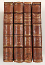 1880 Imperial Russian DAL Dictionary of Russian Language Book 4 volumes RARE