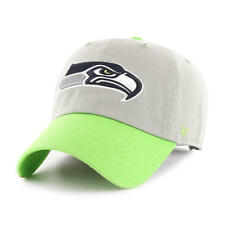 SEATTLE SEAHAWKS NFL 47 BRAND 2-TONE SLOUCH CROWN ADJUSTABLE HAT/CAP NEW
