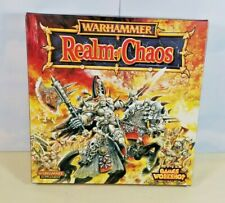 WFB  Realms of Chaos Supplement 1997  Games Workshop