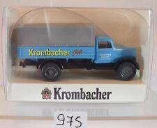 Wiking 1/87 Opel Blitz Pritschen-LKW Krombacher Pils OVP #975