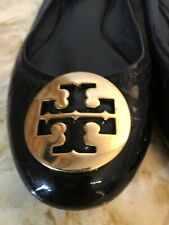 Womens Authentic Tory Burch Black Shoes Size 7