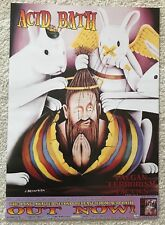 ACID BATH - PAEGAN TERRORISM TACTICS Promo Poster - Original 1996 DAX RIGGS