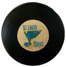ST. LOUIS BLUES VINTAGE ART ROSS CONVERSE CCM TYER  OFFICIAL GAME PUCK MFG. USA