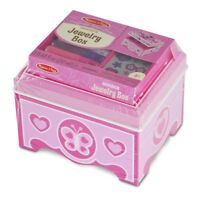 Melissa and Doug Decorate-Your-Own Jewellery Box - (Damaged Packaging) - 18861