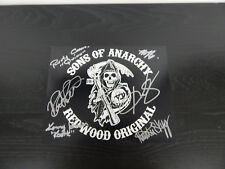 """*VERY RARE* """"Sons of Anarchy"""" Cast Signed W/ Autograph World LOA"""