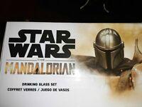 Funko Star Wars The Mandalorian & IG-11 2 Pc. Drinking Glass Set