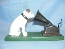 HMV Nipper Dog With Gramophone Cast Iron Advertising NEW