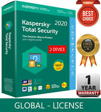 KASPERSKY TOTAL Security 2020 / 2 Device / 1 Year / GLOBAL-KEY /Download 10.54$
