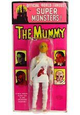 Vintage Azrak AHI Mego World Famous Super Monsters Mummy Mint on Kresge Card MOC