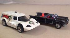 Corgi Junioren Batmobile, 1976. And Joker Auto 1979 - Corgi Barman Bündel X2