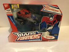 Transformers Animated Optimus Prime Voyager Class Factory Sealed New
