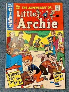 Archie GIANT Comic Book: Adventures of LITTLE ARCHIE -- #45, 1967 (Silver Era)