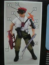 Vtg Hasbro 90s GI JOE Hall of Fame RED BERET Weapons Aresenal 1993 MOC
