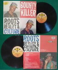 LP 33 Giri Bounty Killer Roots,Reality & Culture REGGAE DANCEHALL 1993 no cd mc