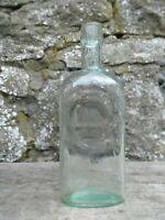 Collectable Vintage Unbranded Green Glass Bottle