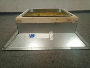 Dayton 4HX38 8 In Curb Height Fixed Nonventilated Roof Curb