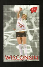 Wisconsin Badgers--2002 Volleyball Pocket Schedule--University Bookstore