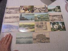 CONSTANTINOPLE Lot de 14 Cartes Postales .. Turquie Postées en 1919