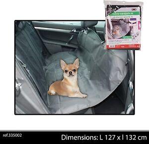 BLACK DOG CAR SEAT COVER REAR BACK PROTECTOR PET CAT TRAVEL HAMMOCK MAT BED