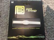 PURE ENERGY BAND - Balance - Strength - Endurance - Size Medium M - White /White
