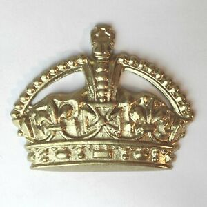 English Phone Booth Emblem Gold or Red Royal Crown Box Set of Four