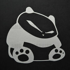 White Panda Decal Sticker Vinyl Badge for Fiat 500 500L Abarth Bravo Panda 100hp
