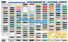 MR HOBBY GUNZE AQUEOUS COLOR ACRYLIC H1-H100 Colours NEW MODEL PAINT 10ml FreeSp