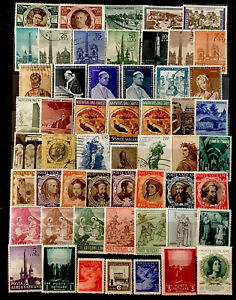 Vatican Stamps  #54 All  Different Lot 80521A