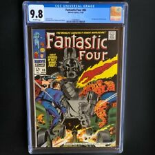 Fantastic Four #80 (1968) 💥 CGC 9.8 💥 ONLY 5 in GRADE! 1st App of Tomazooma!