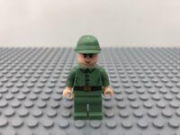 Lego Russian Guard 2 Minifigure from Indiana Jones sets 7626 & 7625 (iaj017)