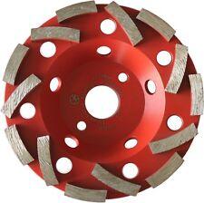 Diamant Schleifteller 125 mm Turbo Schleiftopf  Beton Granit Diascheibe Storm
