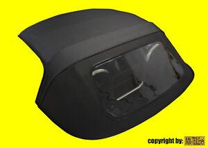 MAZDA MX-5 NB NA Verdeck Dach Vinyl NEU schwarz einteilig low budget Sparverdeck