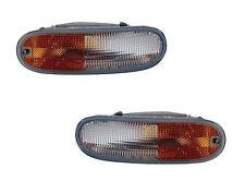 Pair of Side Marker Lights - Left & Right Sides - Fits 98-05 Volkswagen Beetle