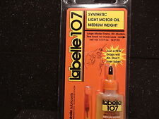LABELLE 107  LIGHT MOTOR OIL MEDIUM WEIGHT MODEL TRAINS BIGDISCOUNTTRAINS
