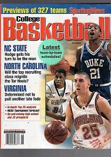 2002-03 THE SPORTING NEWS COLLEGE BASKETBALL YEARBOOK-DUHON-DUKE-BLAKE-MARYLAND