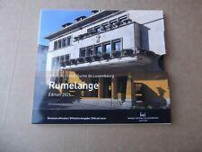 KMS Luxembourg  2021 * Rumelange * + Kms +  2 Euro Jean Photo Merkurstab+Brücke