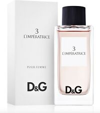 D&G 3 L'Imperatrice Pour Femme 100mL EDT Authentic Perfume for Women COD PayPal