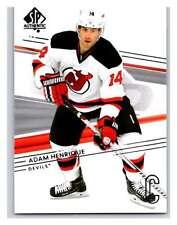 (HCW) 2014-15 Upper Deck SP Authentic #78 Adam Henrique NJ Devils NHL Mint