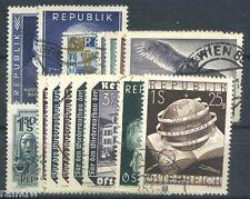 Autriche promotion 1953 O complet (s2862)