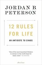 12 Rules for Life: An Antidote to Chaos by Jordan B. Peterson New Hardback Book