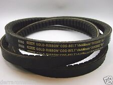 "New Carlisle Bx60 Gold Ribbon Cogged V-Belt, 63"" Outside Length b115"