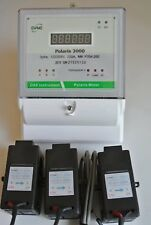 Dae P204-200 Kit, Ul, kWh Smart Submeter, 3P4W, 200A, 120/208v, 3 Split Core Cts