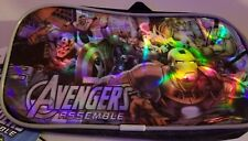 Marvel Avenger Assemble Pencil Case (Damage to Blue Shield) New 2014