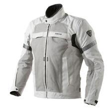 Giacche grigio GORE-TEX, con protezioni spalle per motociclista