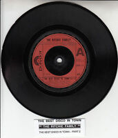 """RITCHIE FAMILY The Best Disco In Town 7"""" 45 rpm record + juke box title strip"""