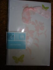 GARTNER INVITATION KIT BUTTERFLY WITH BOW INVITATIONS 15 CT