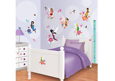 77 Wandsticker Kinderzimmer Disney Fairies Tinkerbell Tattoo Mädchen Messlatte
