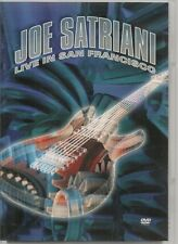 2 DVD ZONE 2--CONCERT--JOE SATRIANI--LIVE IN SAN FRANCISCO
