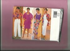 BUTTERICK 4549 pattern blouse pants top skirt summer Sz 6 8 10 12 14 unused uncu